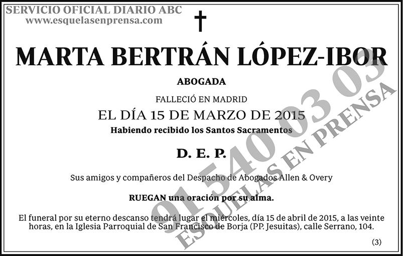 Marta Bertrán López-Ibor